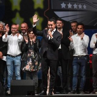 Luigi Di Maio alla convention di Rimini