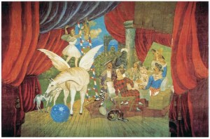 """Sipario per il balletto """"Parade"""", 1917"""