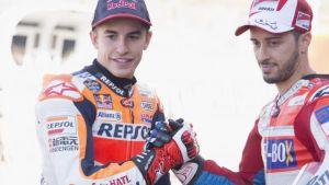 Marc Márquez e Andrea Dovizioso, protagonisti di una meravigliosa stagione di MotoGP