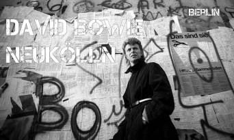 David Bowie al Muro di Berlino