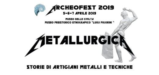 archeofest 2019 metallurgica
