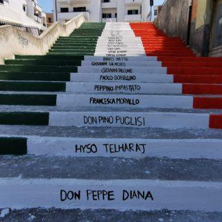 scalinata della legalità