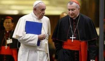 Papa Francesco e il Cardinale Parolin
