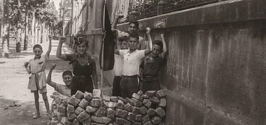 fotografie mostra guerra civile spagnola