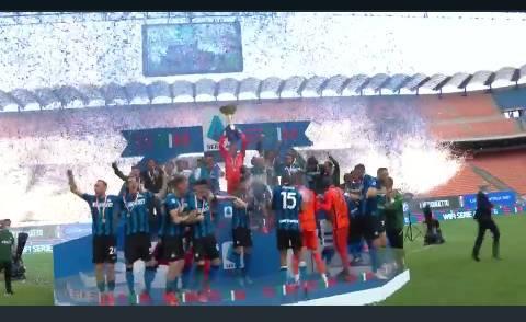 Premiazione Scudetto Inter