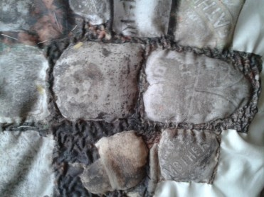 Quilted stones