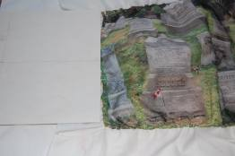 Port Colborne grave with Canadian Flag