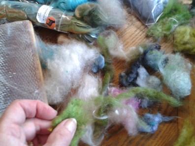 Variety of silk fibres