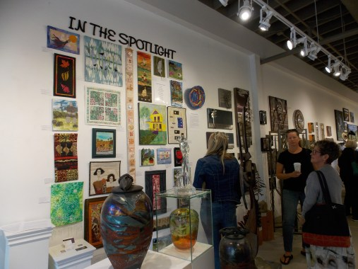 13 Studio Art Quilters now In the Spotlight until September 30