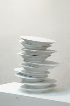 Un peu de temps, porcelaine de Limoges