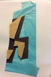 Collage préparatoire, 30 x 24 cm