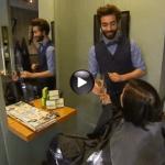 Pause détente chez les coiffeurs