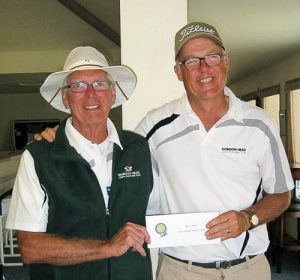 2016 Wilkerson Pairs undefeated three game winners and Third Place overall. David Gardner and Dennis Verge.