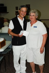 2016 Beckwith Scotch Pairs second 3-game winners Jay Huang and Rosemary Ward