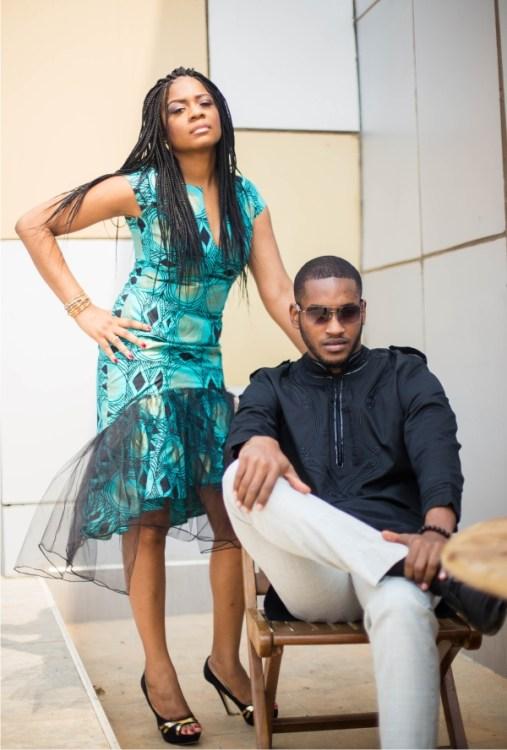 Samantha and Jeffrey African Wear