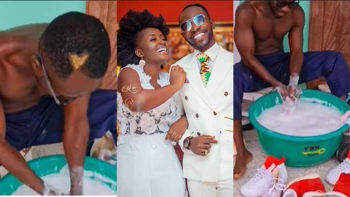 'Washing My Wife's Clothes For 26 Years Has Made Me Appreciate Women Better' – Okyeame Kwame Says