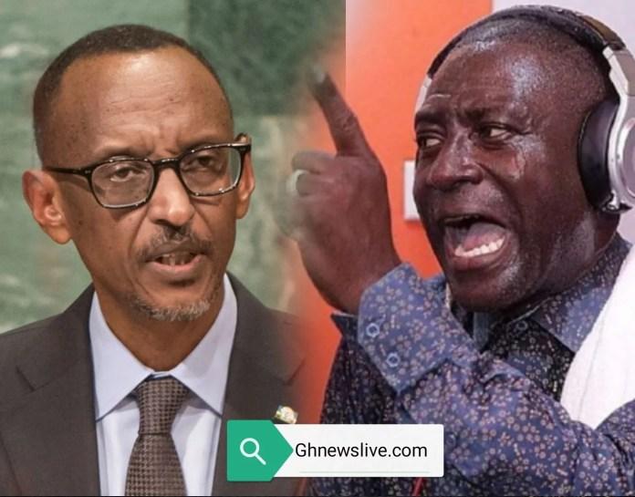captain Smart Paul Kagame