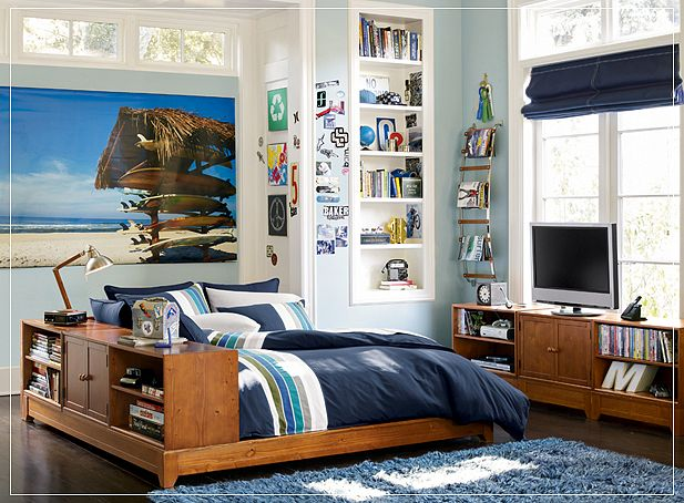 8 Awesome Bedrooms For Young Boys - Bedroom Design Ideas ... on Cool Bedroom Ideas For Teenage Guys  id=42033