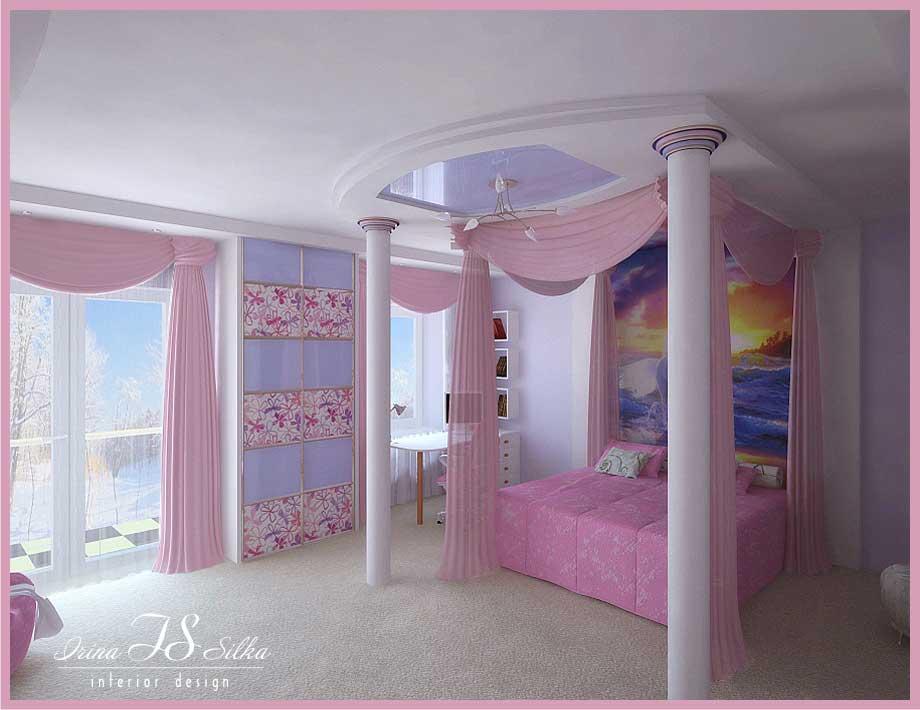 Beautiful Room for Girl by Irina Silka - Interior Design Ideas on Girls Beautiful Room  id=13931