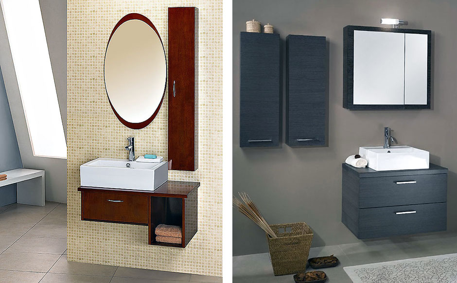 Wetroom with Sink with Mirror and Storage Ideas - Interior ...