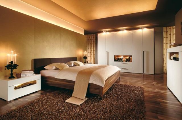 Modern couples bed - Interior Design Ideas