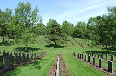 The German War Cemetary at Cannock Chase