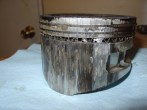 Roached piston