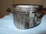 Roached piston