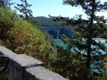 Deception Pass from the north cliff side.