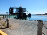 The 2:45pm Coupeville/Port Townsend ferry offloads at Whidbey Island.
