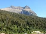 A pyramid-like mountain at Glacier NP.