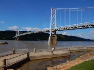 The Maysville/Aberdeen bridge across the Ohio River
