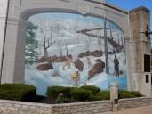 Maysville levee mural.Maysville levee mural.