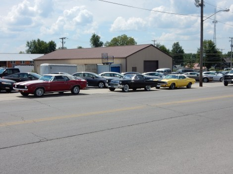 Classic cars in Kenton.