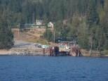 The east ferry landing on Lake Kootenay.