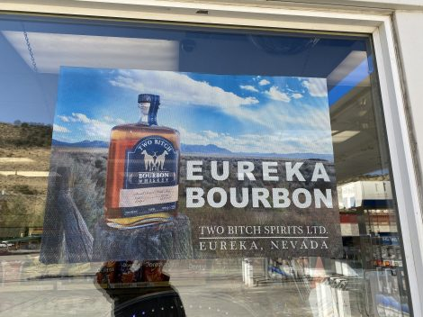 Eureka Nevada bourbon distillery? I may have to check this out.