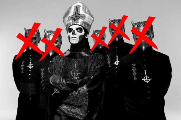 Ghost Hints At Lineup Changes, European Tour Starts Next
