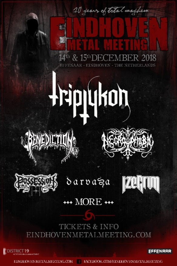 Triptykon, Benediction, Necrophobic And More Booked For