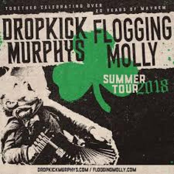 Dropkick Murphys And Flogging Molly To Kickoff First-Ever