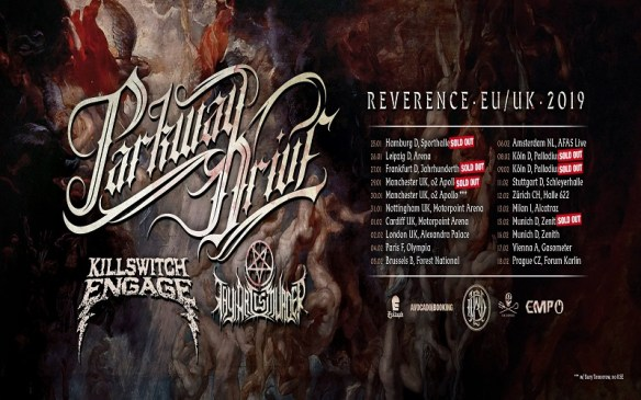 LIVE REVIEW: Parkway Drive - Killswitch Engage - Thy Art Is