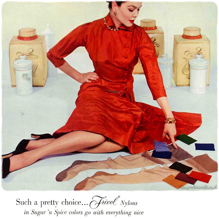 Van Raalte Lingerie Adverts 1949 1952 Stockings