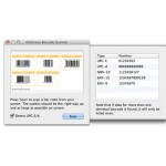 Scan barcodes from your screen on Mac OS X