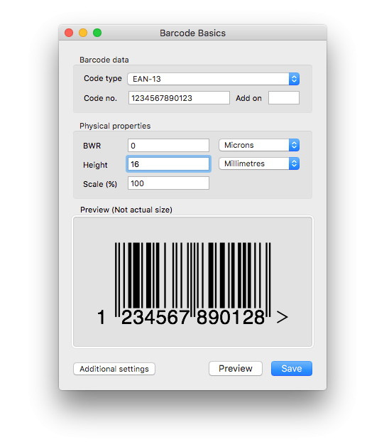 Best barcode generator for mac