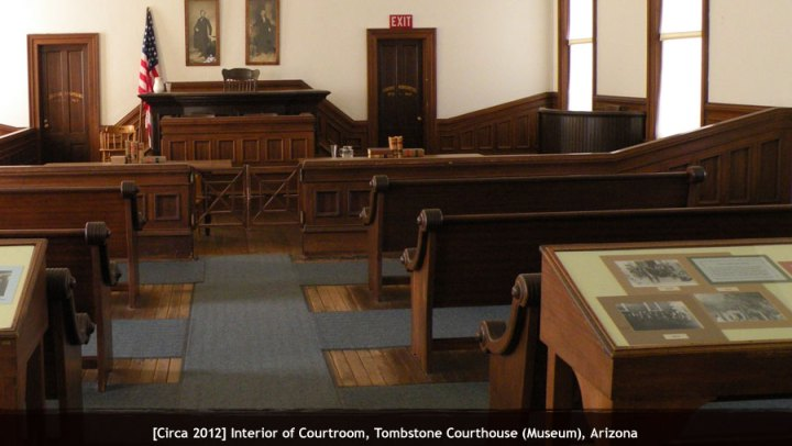 Tombstone Courthouse State Historic Park  Tombstone  Arizona   Ghost     Date  11 05 2011  Temp  65     Elevation  4540 ft  Address  223 Toughnut St    Tombstone  AZ 85638  520  457 3311  Latitude  31 712374  Longitude    110 06883