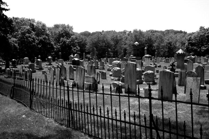 Union cemetery easton connecticut - white lady