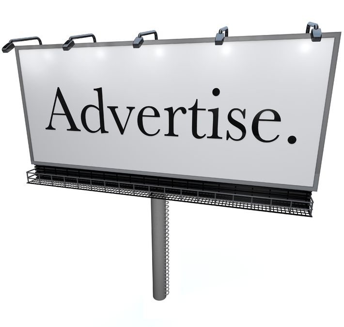 Advertise on your blog