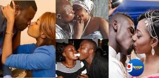 Which Ghanaian Celebrity Had The Worst Kiss ? ( Photos)