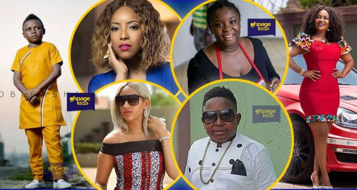 These 20 Ghanaian celebrities' ages will leave you shocked (Photos)