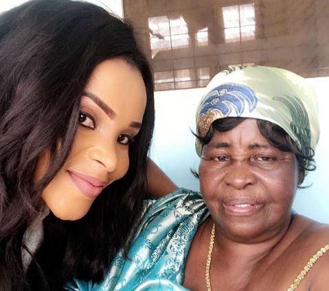 Benedicta Gafah Shares Cute Photo Grandmother