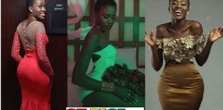 These Stunning Photos of YOLO Fame Fella Makafui Flaunting Her Curves